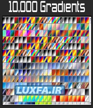 10000 گردنیت فتوشاپ